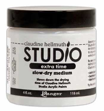 Claudine Hellmuth Studio Extra Time Slow-Dry Medium 4oz