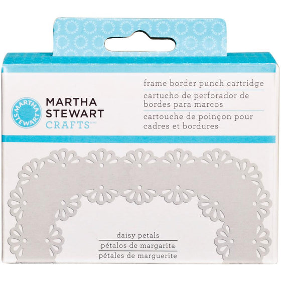 Martha Stewart Frame Border Punch Cartridge - Daisy Petals