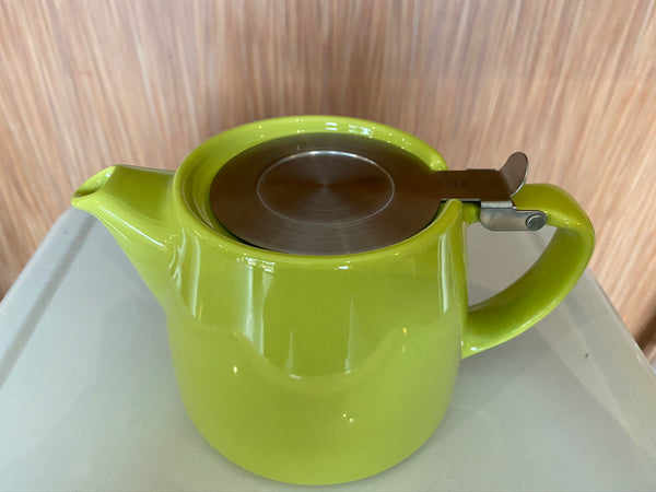 Lime stump teapot