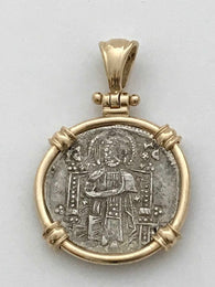Venetian Christ/St. Mark Pendant - MD1381