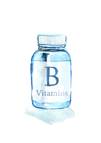 B vitamins for boosting energy and reducing fatigue and tiredness also combats a stressful lifestyle