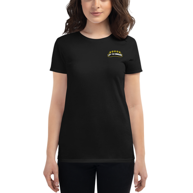 Women's Lift To Conquer Logo Tee