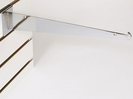 "14"" Shelf Bracket W/Lip - Chrome"