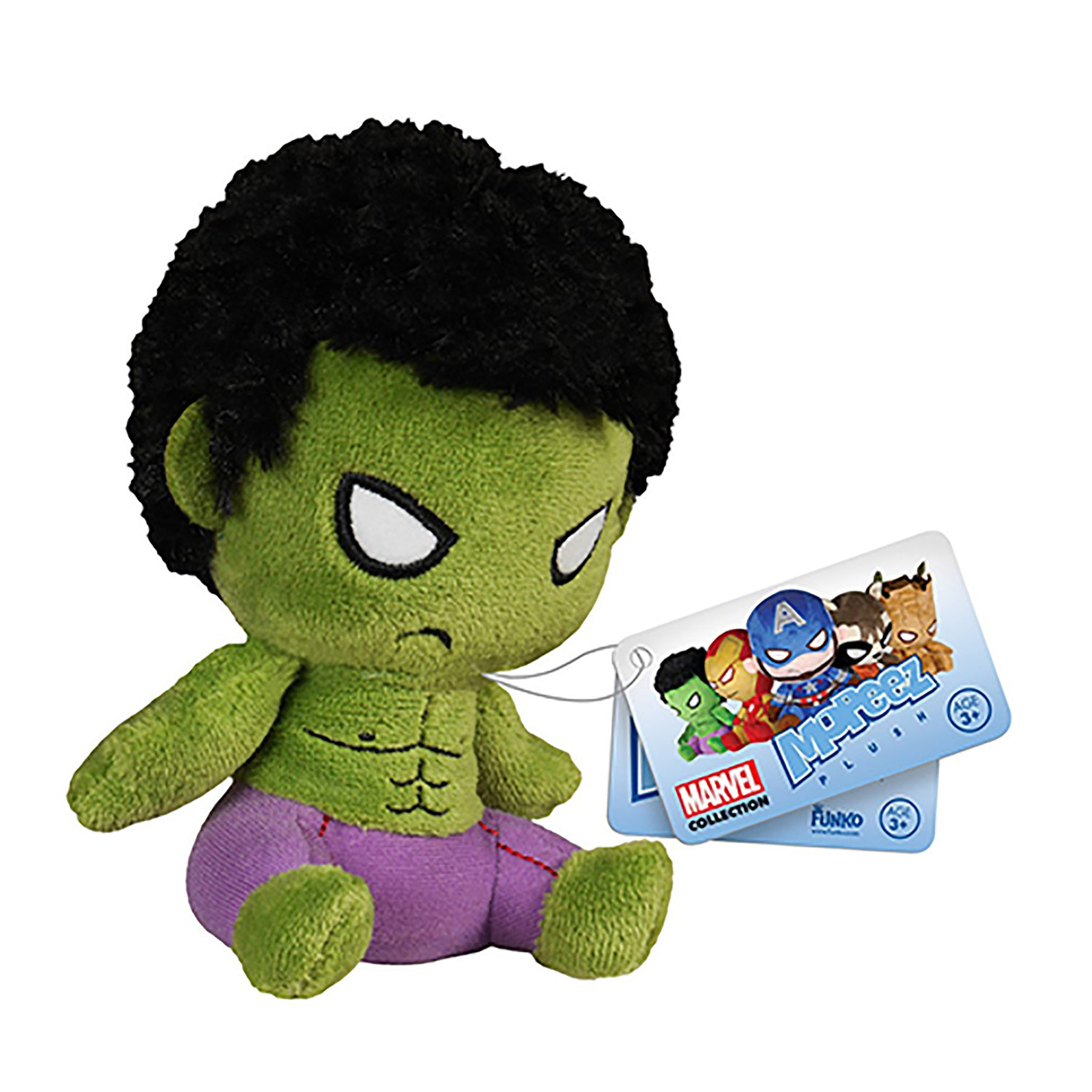 Mopeez - Marvel - Hulk Plush