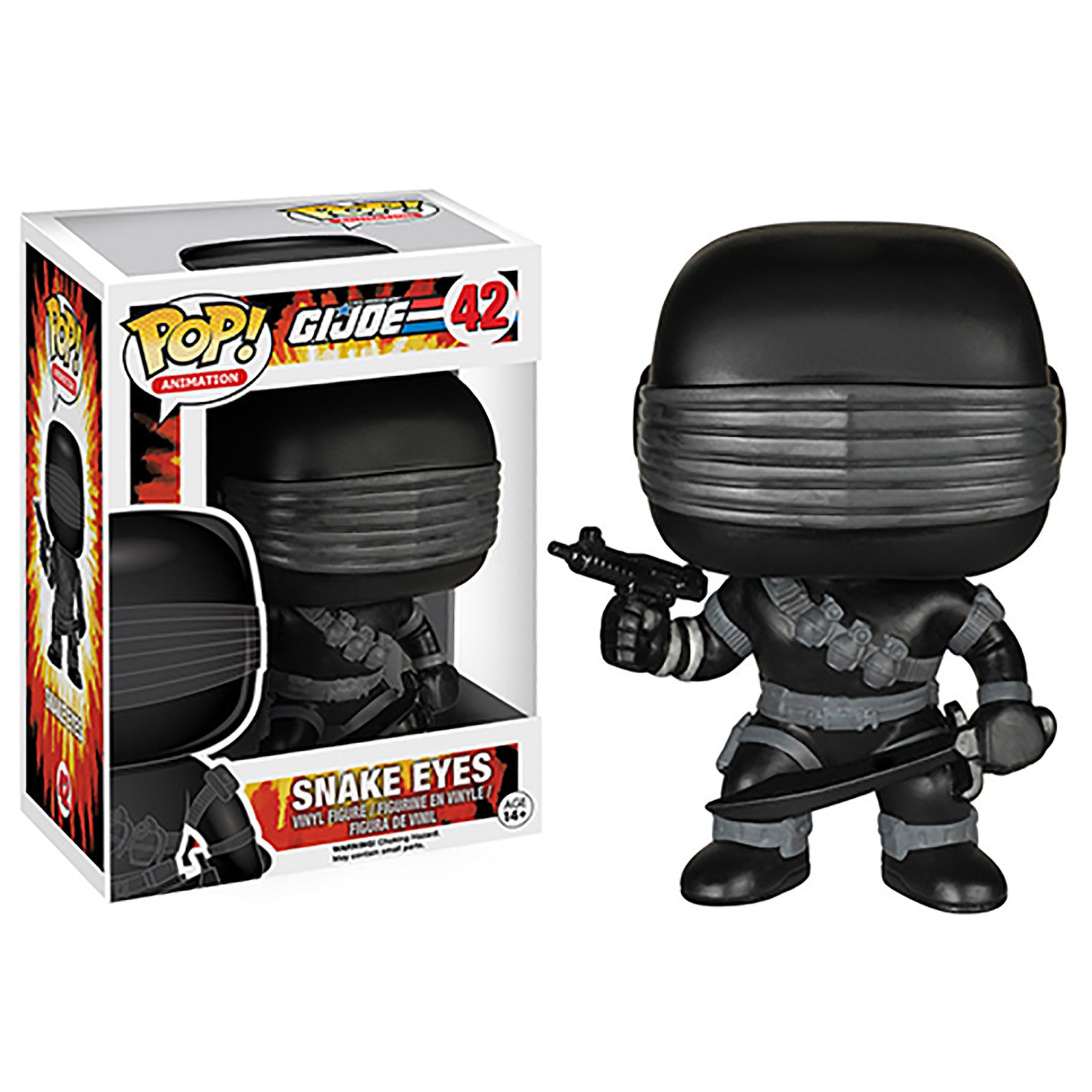 POP - GI Joe - Snake Eyes