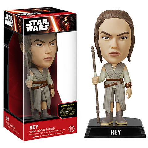Wacky wobbler - Star Wars - The Force Awakens -  Rey