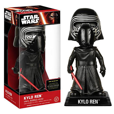 Wacky wobbler - Star Wars -  Kylo Ren with Helmet