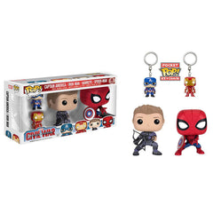POP - Marvel - Civil War - 4 Pack