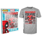 POP T-shirt - Deadpool - Hire - Small