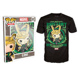POP T-shirt - Marvel - Loki's Army Poster - Medium