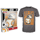 POP T-shirt - Star Wars - BB-8 Type Poster - Small