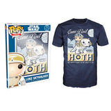 POP T-shirt - Star Wars - Visit Hoth Poster - Large