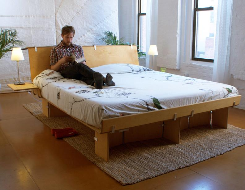 The Platform Bed by Modos