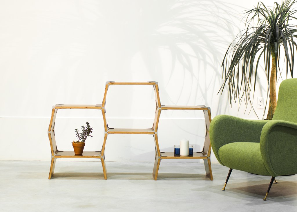 The 3 Cell Shelf by Modos