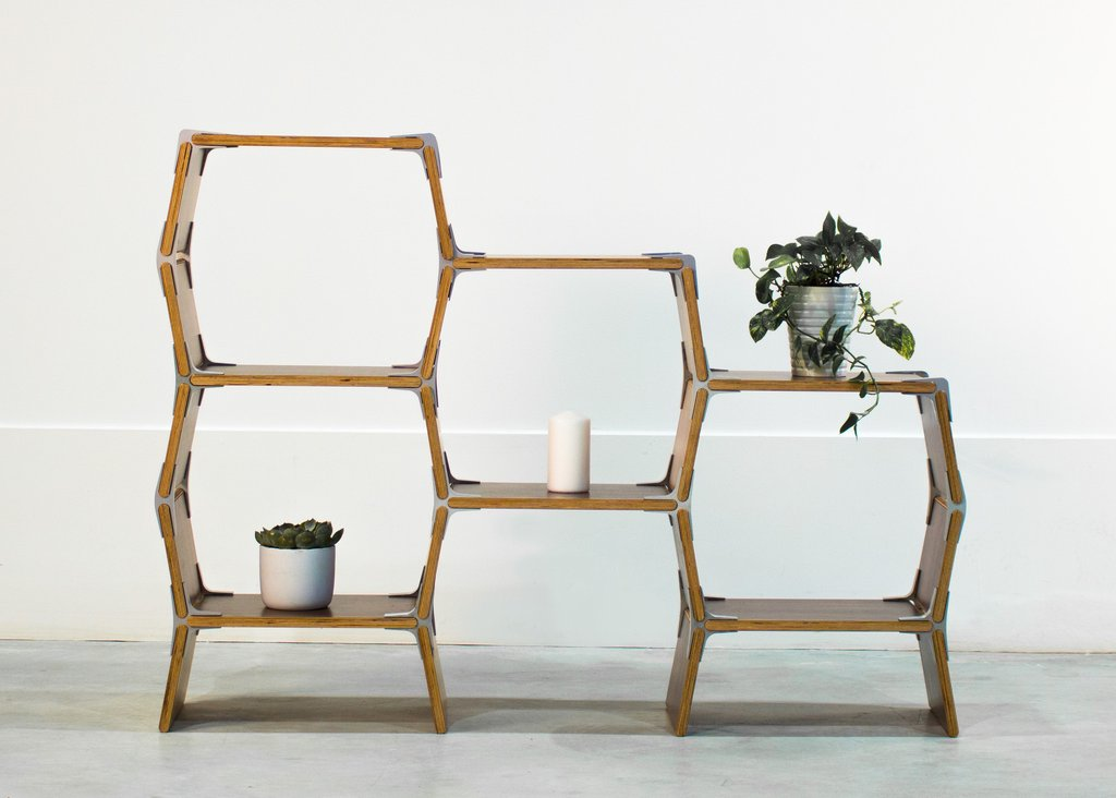 The 4 Cell Shelf By Modos