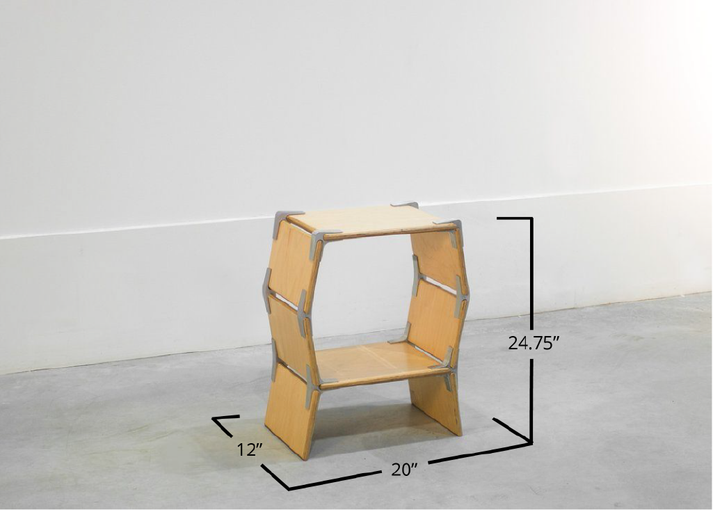 Hexagon Side Table | One Cell