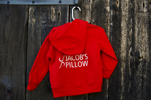 Toddler Zip Hoodie Red