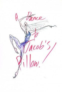 "Jules Feiffer ""A Dance to Jacob's Pillow!"" Print"
