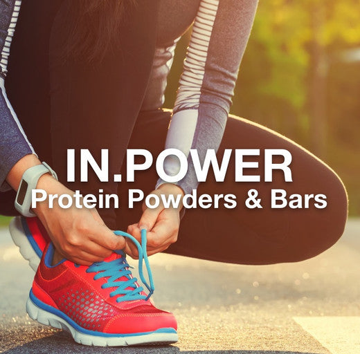 IN.POWER:  Supply your body with the world's best tasting, most biologically active, organic whey and plant proteins