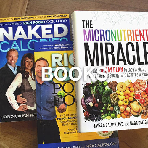 Books: Educate yourself with these great nutritional reads.