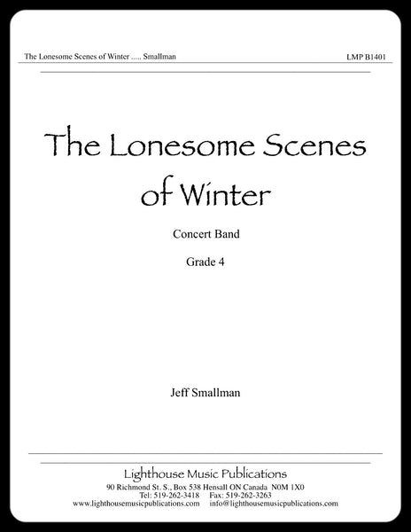 The Lonesome Scenes of Winter