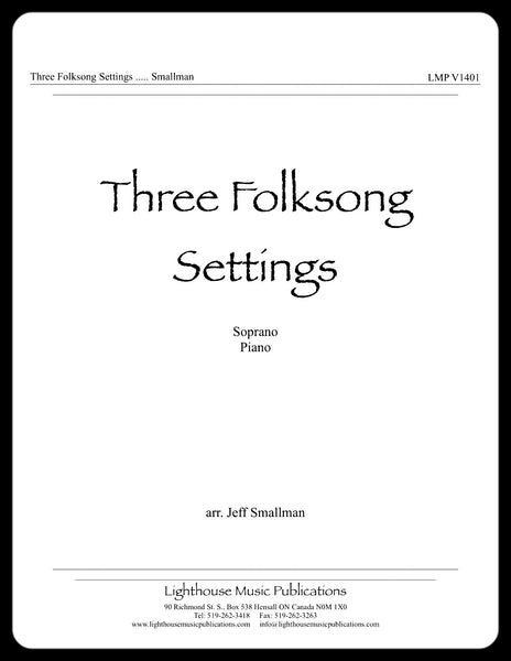 Three Folksong Settings