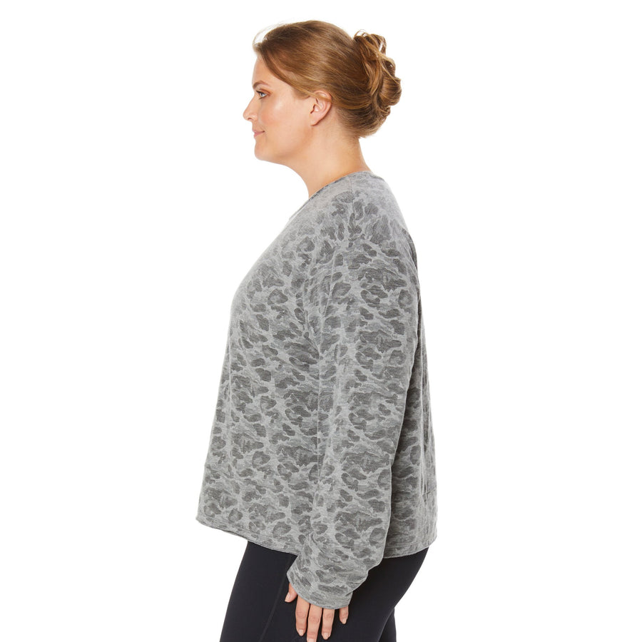 EXTENDED DAY SWEATSHIRT (PLUS SIZE)