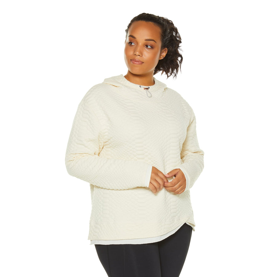 RESTORE HOODED SWEATSHIRT (PLUS SIZE)