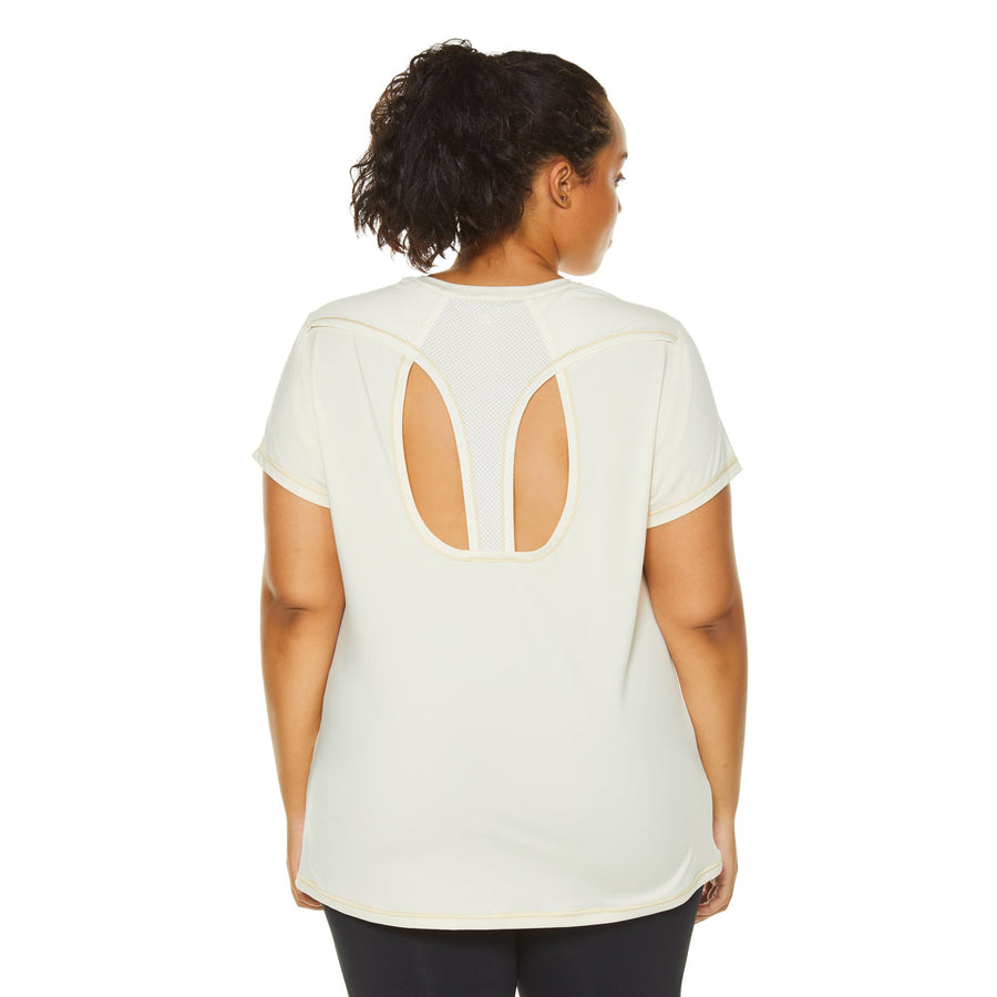 WISHBONE TEE (PLUS SIZE)