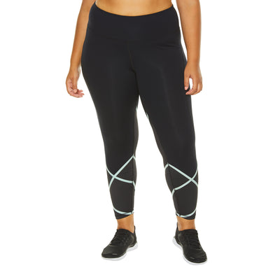 CROSS CHECK LEGGING (PLUS SIZE)