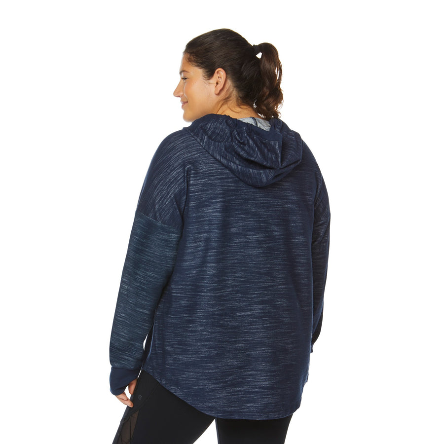 GETAWAY CROP SWEATSHIRT (PLUS SIZE)