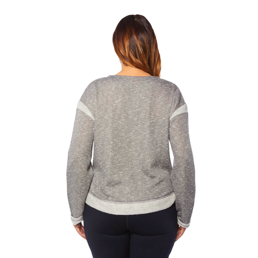 SURFER TERRY SWEATSHIRT (PLUS SIZE)