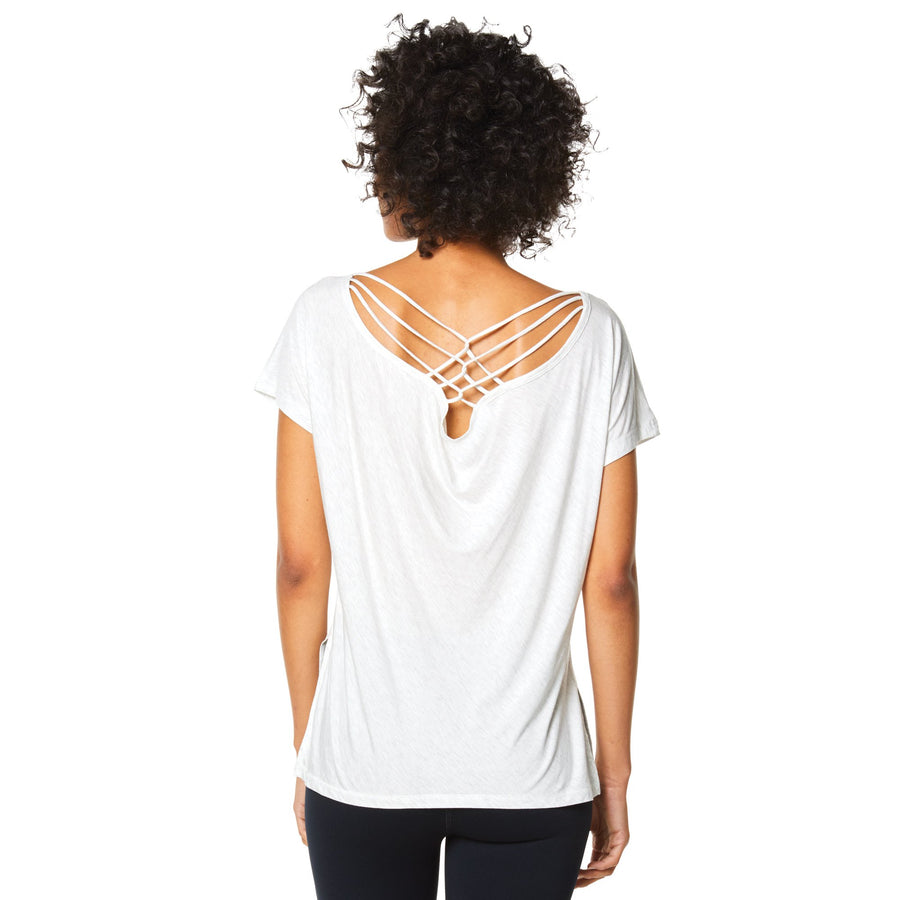 PAIA STRAPPY BACK TEE