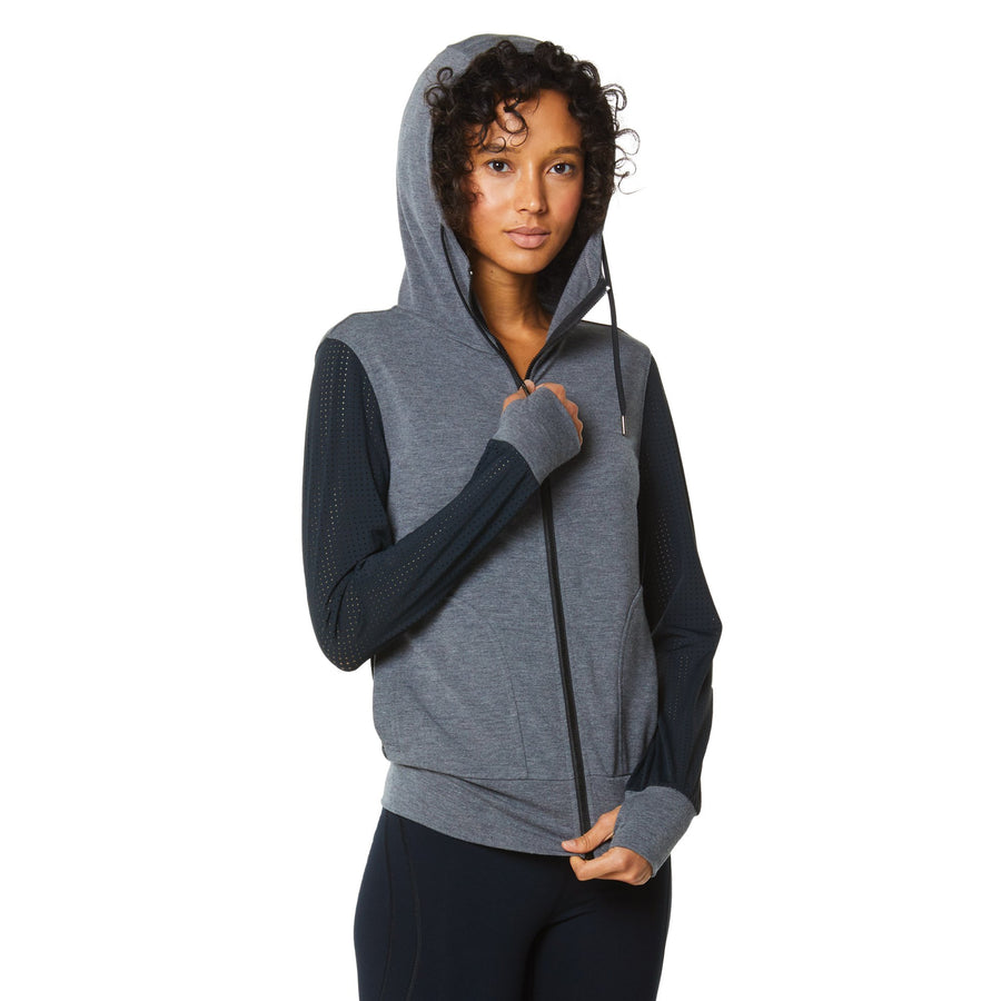 HANA FLEECE MESH JACKET