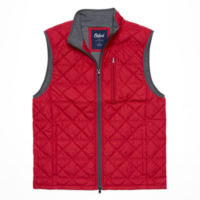 Ottley Quilted Full Zip Vest