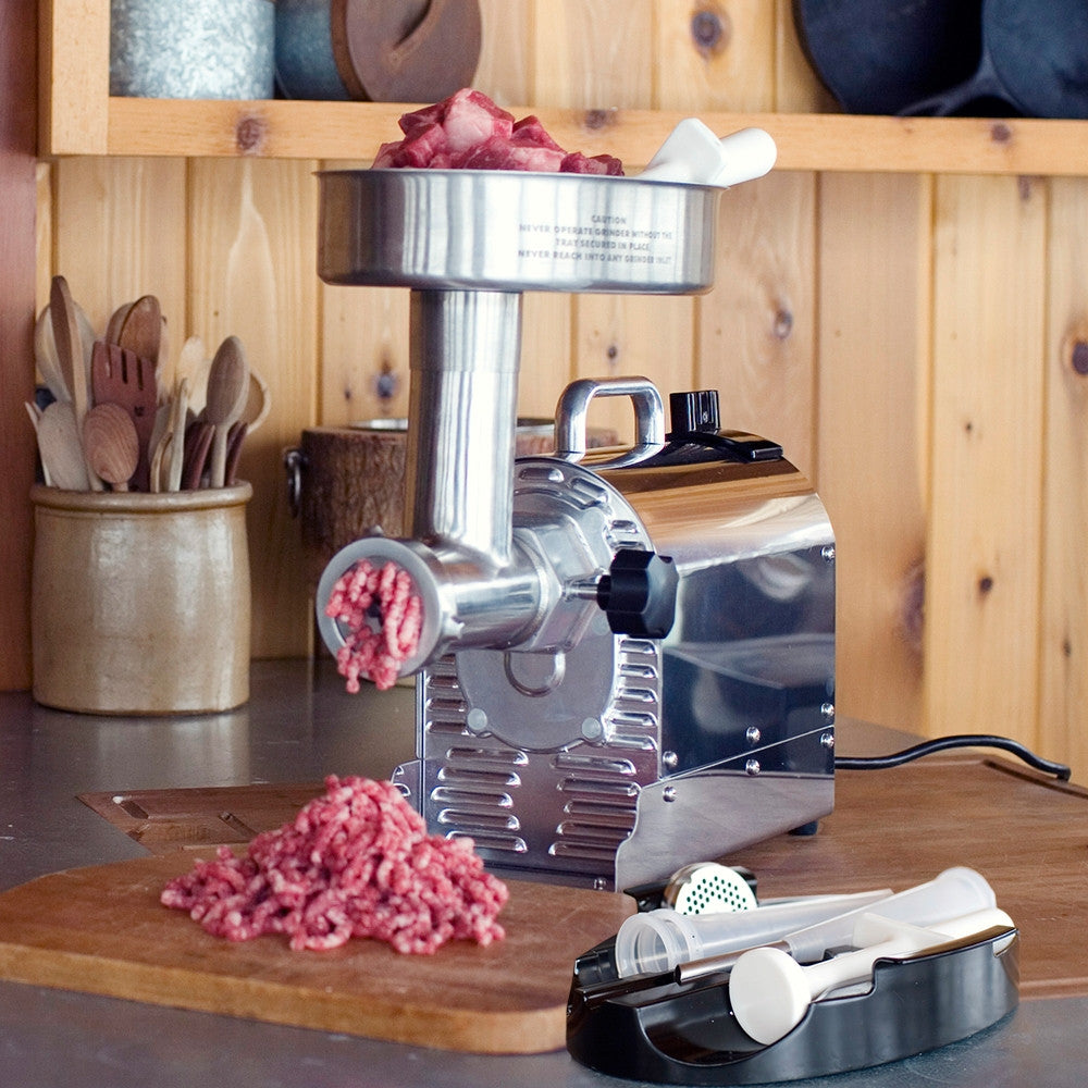 WESTON PRO SERIES™ #8 ELECTRIC MEAT GRINDER (¾ HP)