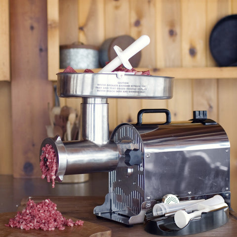 WESTON PRO SERIES™ #12 ELECTRIC MEAT GRINDER (1 HP)