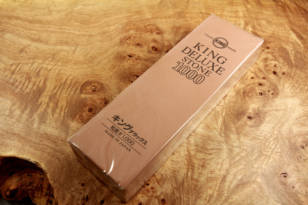King Deluxe Stone Japanese Water Stone 1000 Grit
