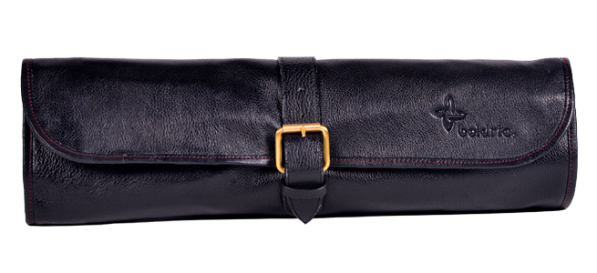 boldric-one-buckle-leather-knife-bag-black-free-shipping