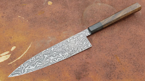 Hyphen Cutlery 225mm Damascus Gyuto