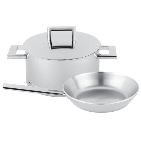 Demeyere John Pawson 3-pc Stainless Steel Cookware Set