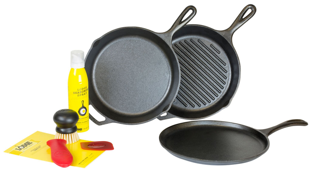 Lodge Cast Iron 7 Piece Gourmet Set (Free Shipping)