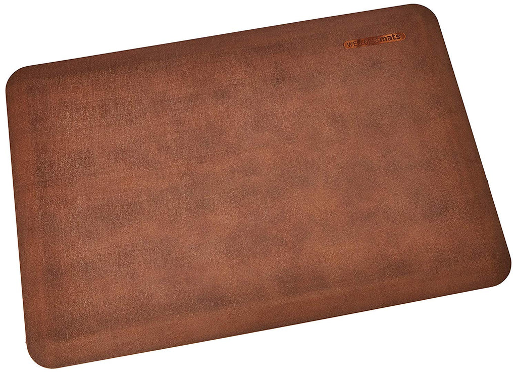 "Wellness Mats Linen Anti-Fatigue Mat - Comfort & Support - Non-Slip, Non-Toxic - 3'x2'x 3/4"" Antique Light"