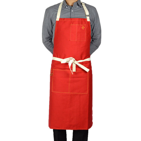 Boldric Red Apron (FREE SHIPPING)