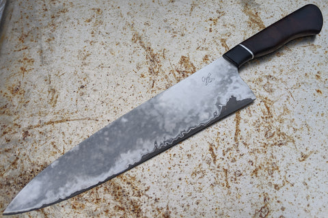 "Blade and Hammer 11"" San Mai Chef Knife"