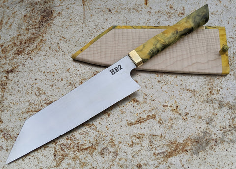MAV Knives 195mm Kiritsuke with Saya (HB2)