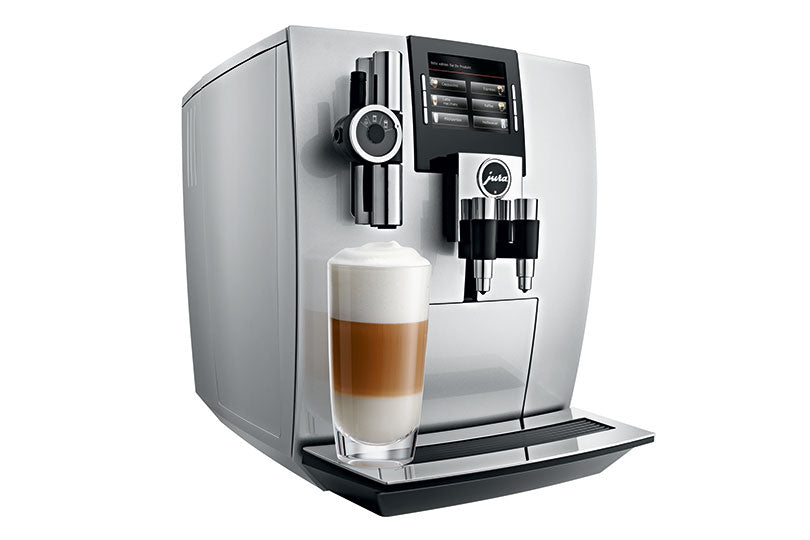 Jura J90 Brilliant Silver Automatic Espresso Machine