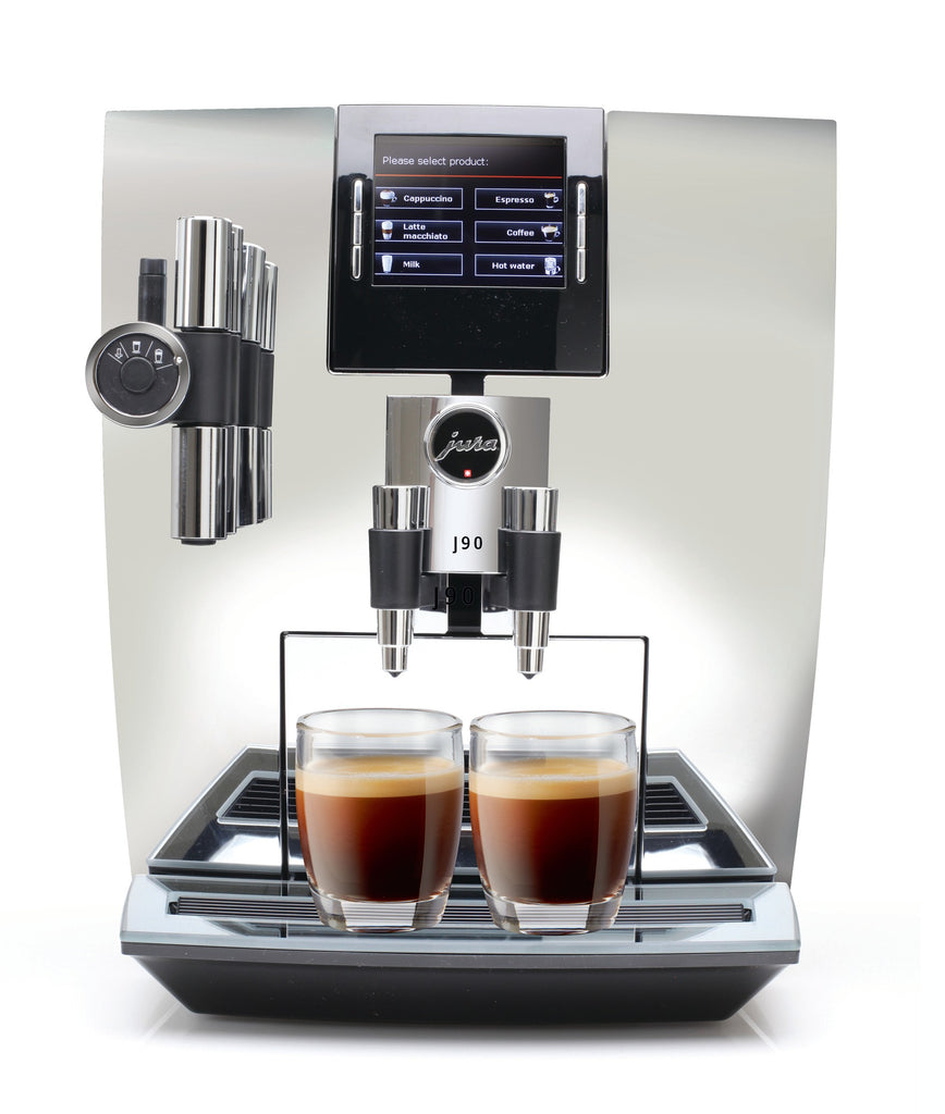 Jura J90 Chrome Automatic Espresso Machine