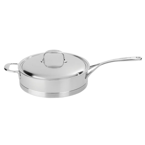 Demeyere Atlantis Stainless Steel Saute Pan with Helper Handle