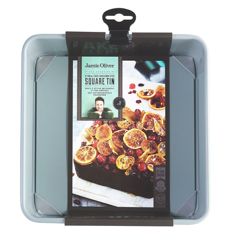 JAMIE OLIVER Square Cake Tin, 8 Inches